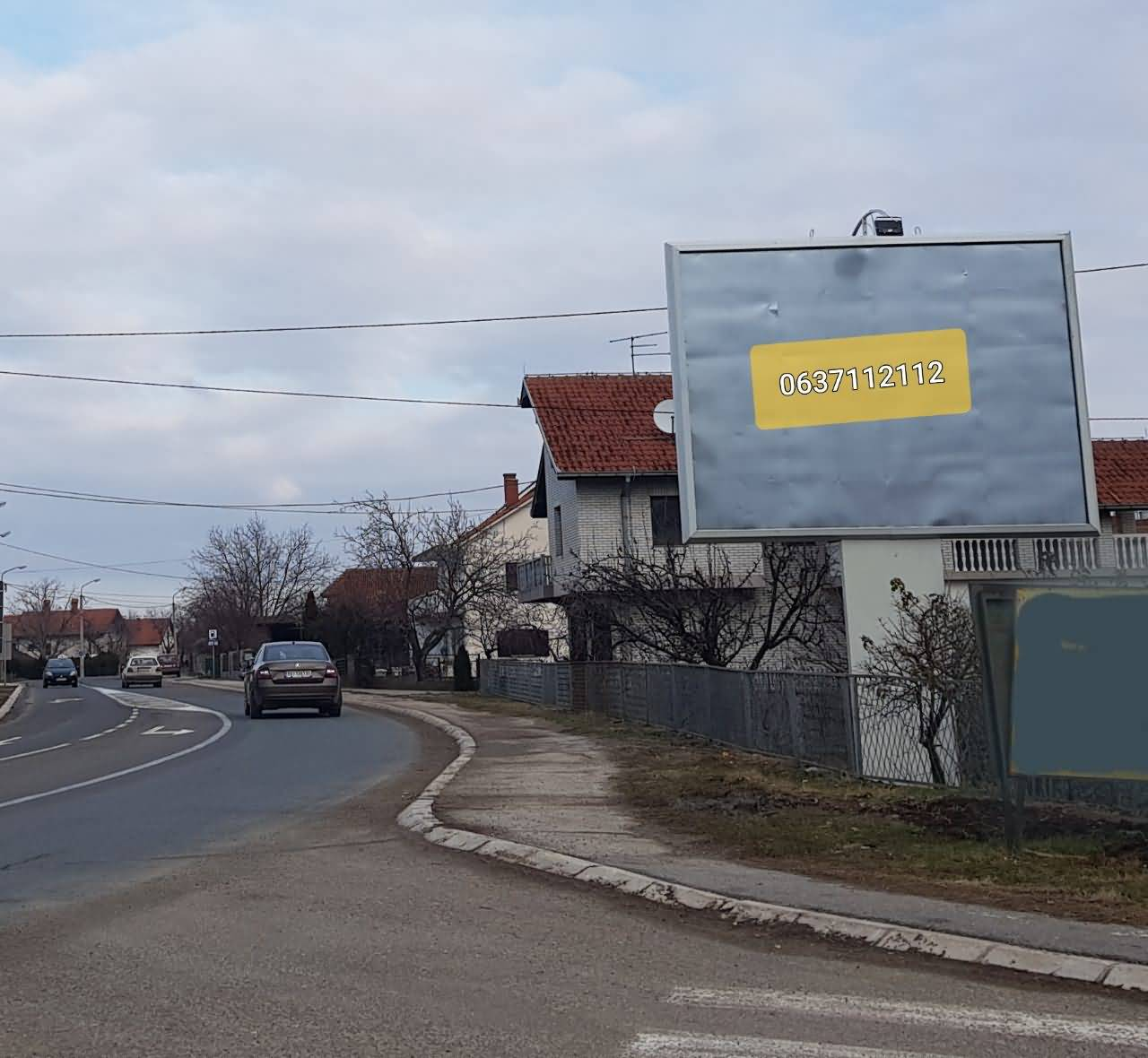 TOPOLA 4x3m na putu Topola-Beograd
