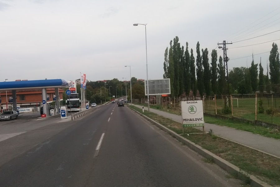 Ulaz u Mladenovac iz Pravca Beograda 5x3
