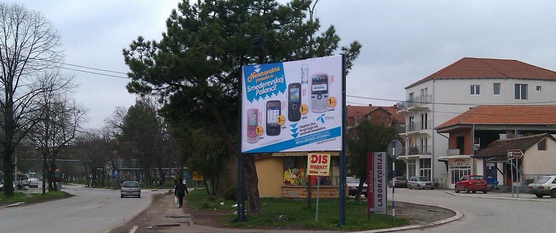 bilbord-smederevska-palanka-preko puta bolnice,kod marketa IDEA